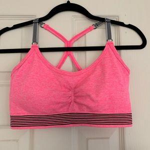 Hot Pink Victoria Sport Sports Bra